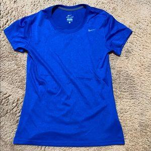 Blue Nike Dri-Fit
